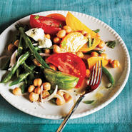 Market Salad with Goat Cheese and Champagne-Shallot Vinaigrette Recipe