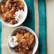 Graham Cracker-Apple Crisp