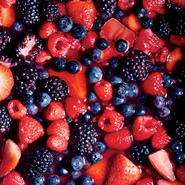 Gin and Maple Macerated Berries