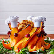 Butternut Squash Crown Roast