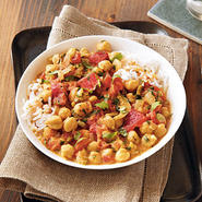 Chickpeas in Curried Coconut Broth Recipe