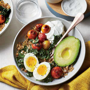 Farro Breakfast Bowl