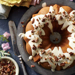 Browned Butter Carrot Cake with Toasted Pecans