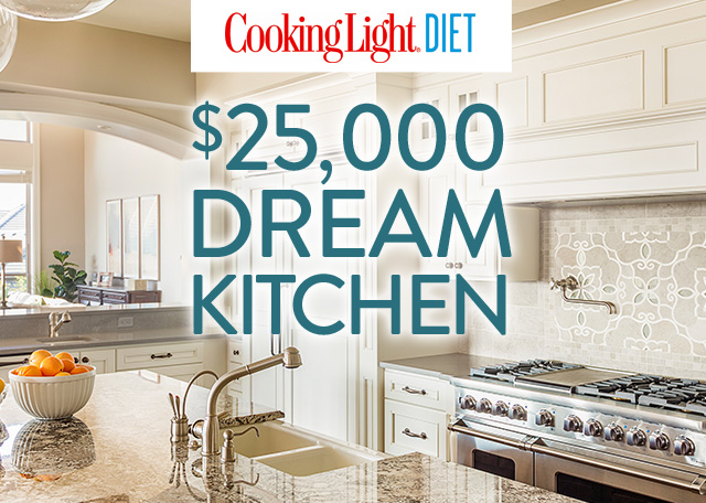 Cooking Light Diet - $25,000 Dream Kitchen