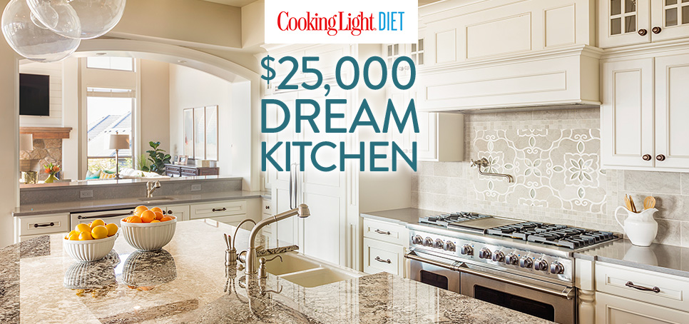 Cooking Light Diet - Enter For A Chance To Win A $25,000 Dream