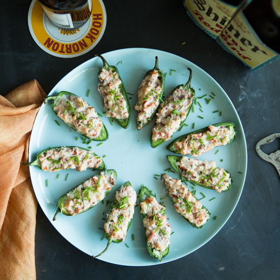 1606 Lobster and Bacon Stuffed Jalapeño Bites