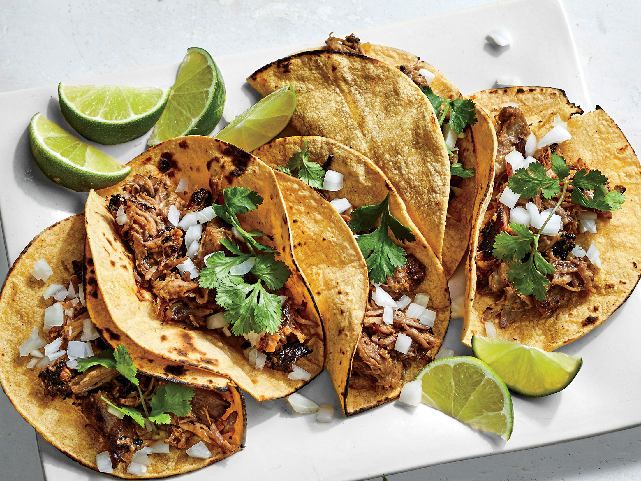 Slow Cooker Carnitas Tacos