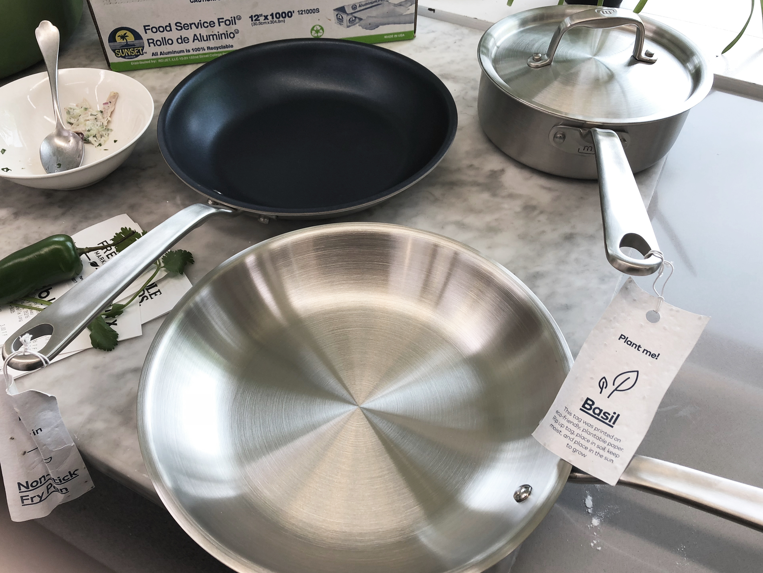 Made In Stainless Steel Cookware Is Just As Great All Clad Cooking Light