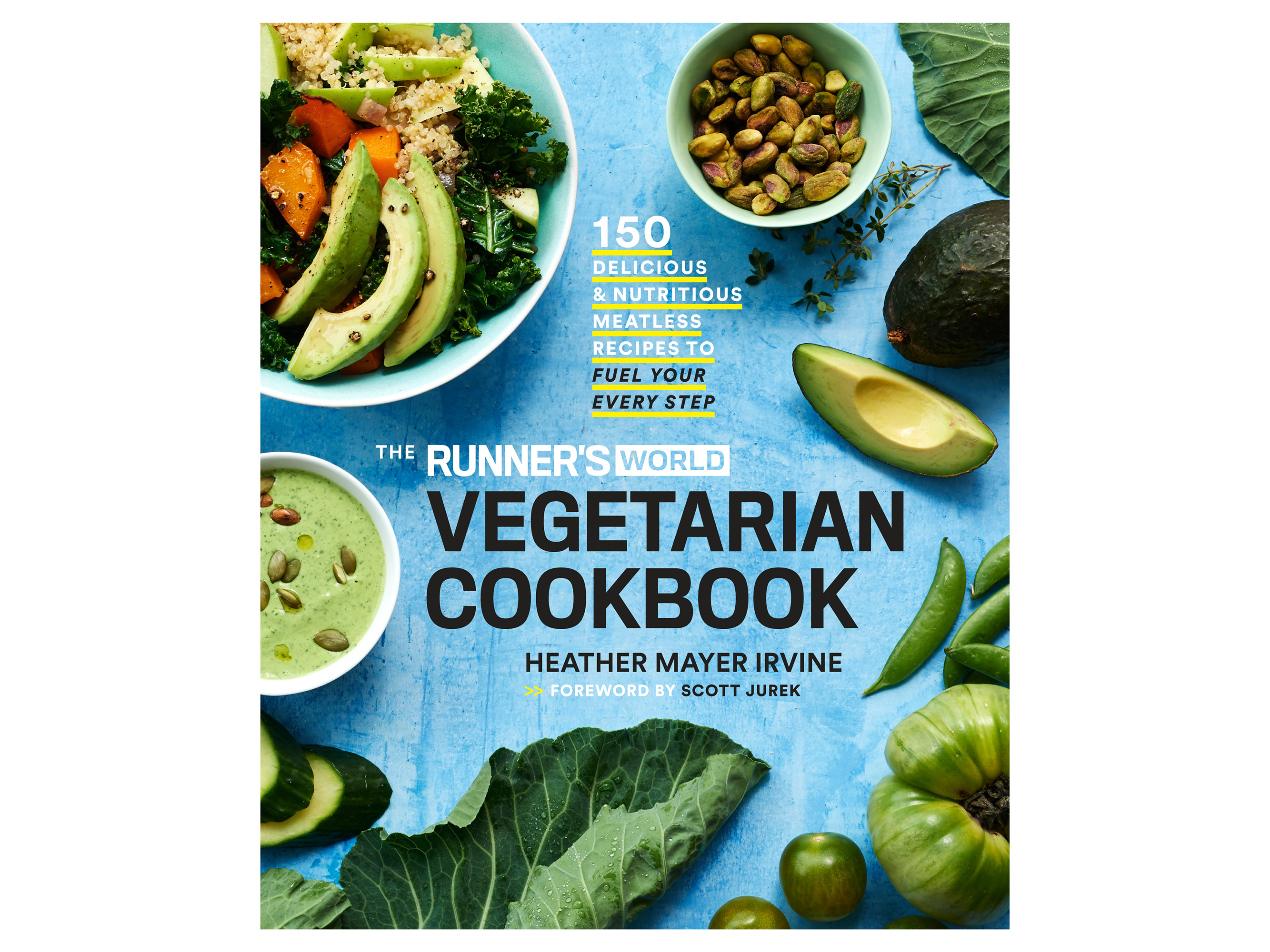Runners World Vegetarian Cookbook Cover