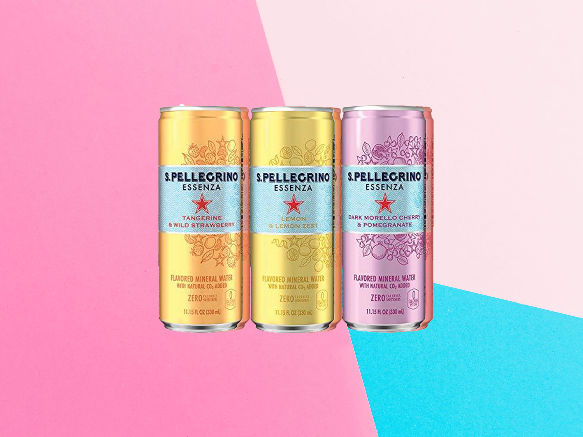 S Pellegrino Introduces 3 New Flavors of Sparkling Water