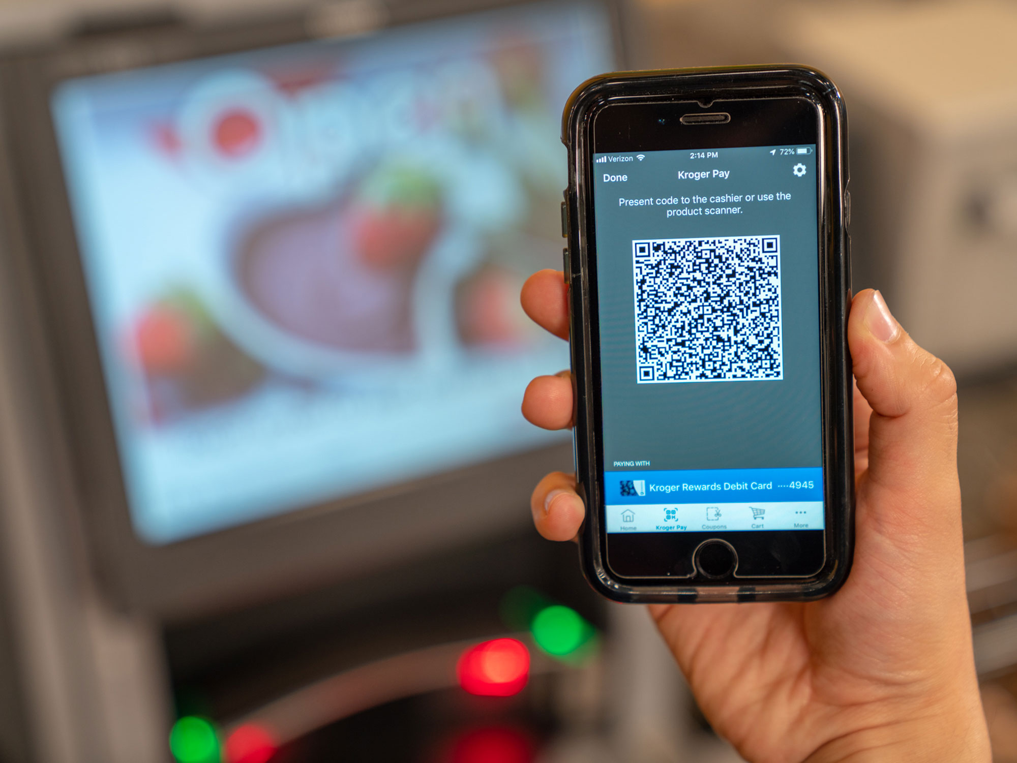 Kroger's New App Lets You Pay By Phone