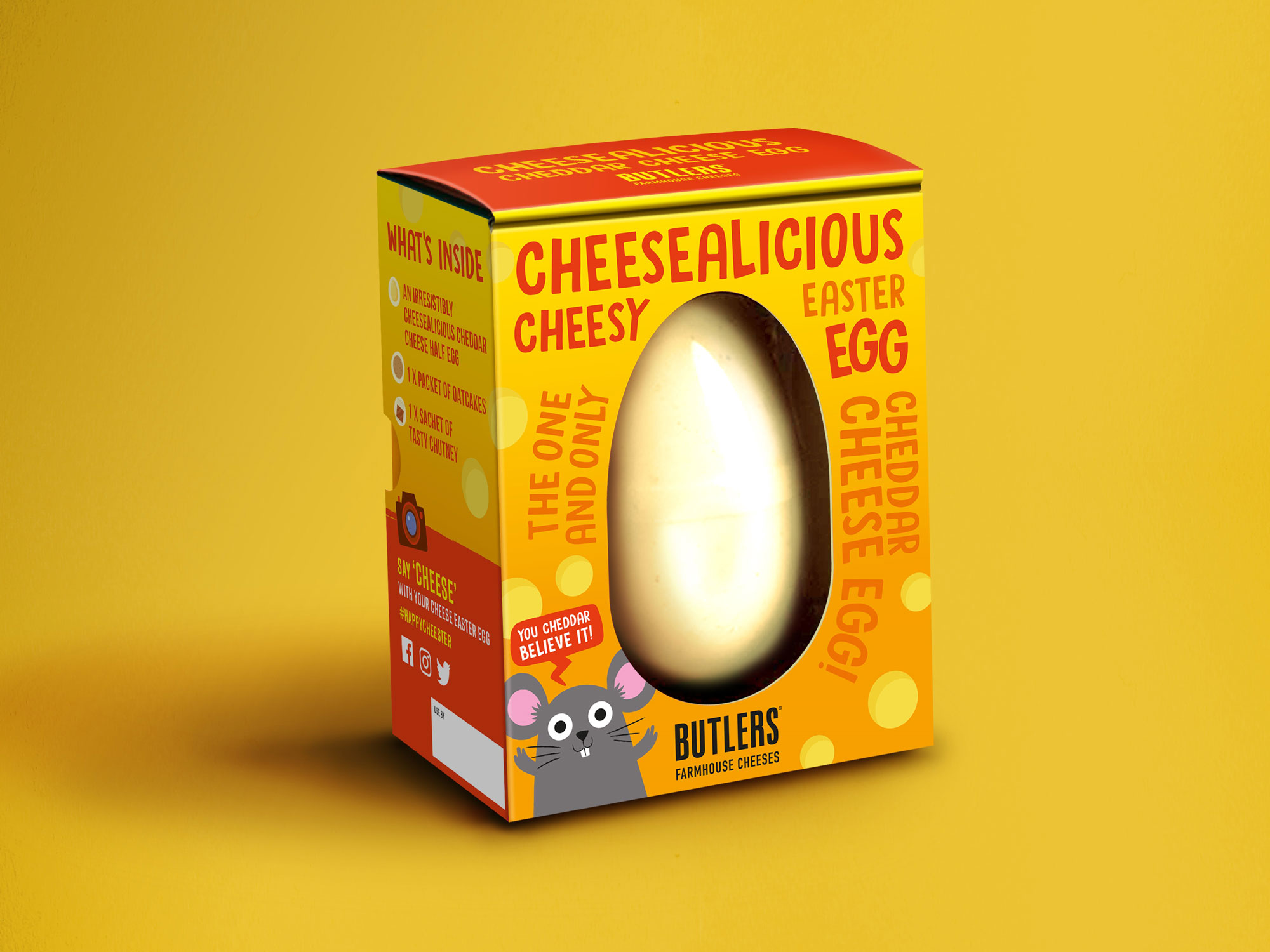 Sainsbury's Cheese Easter Egg