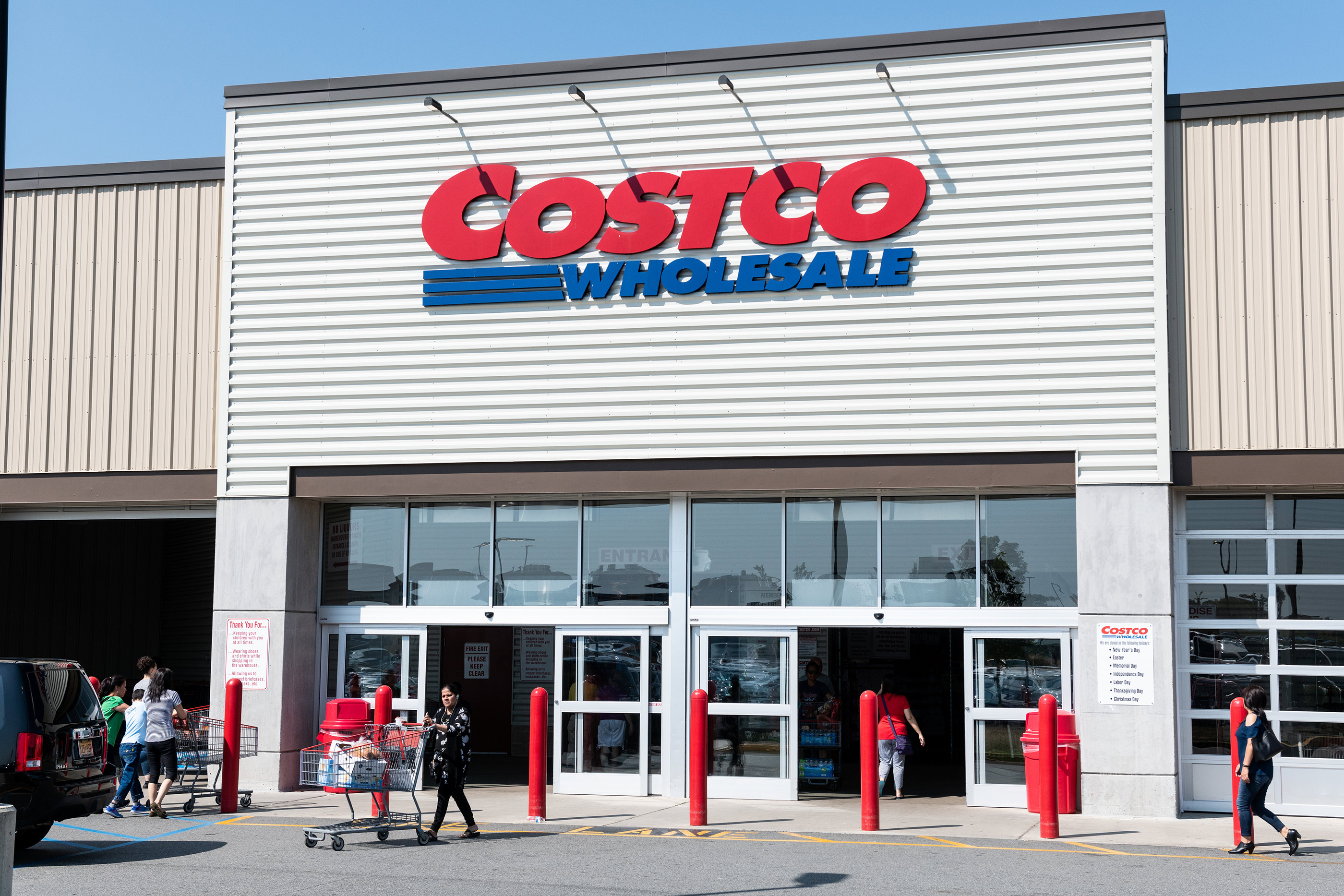 Costco store in Teterboro, New Jersey, August 5, 2018.