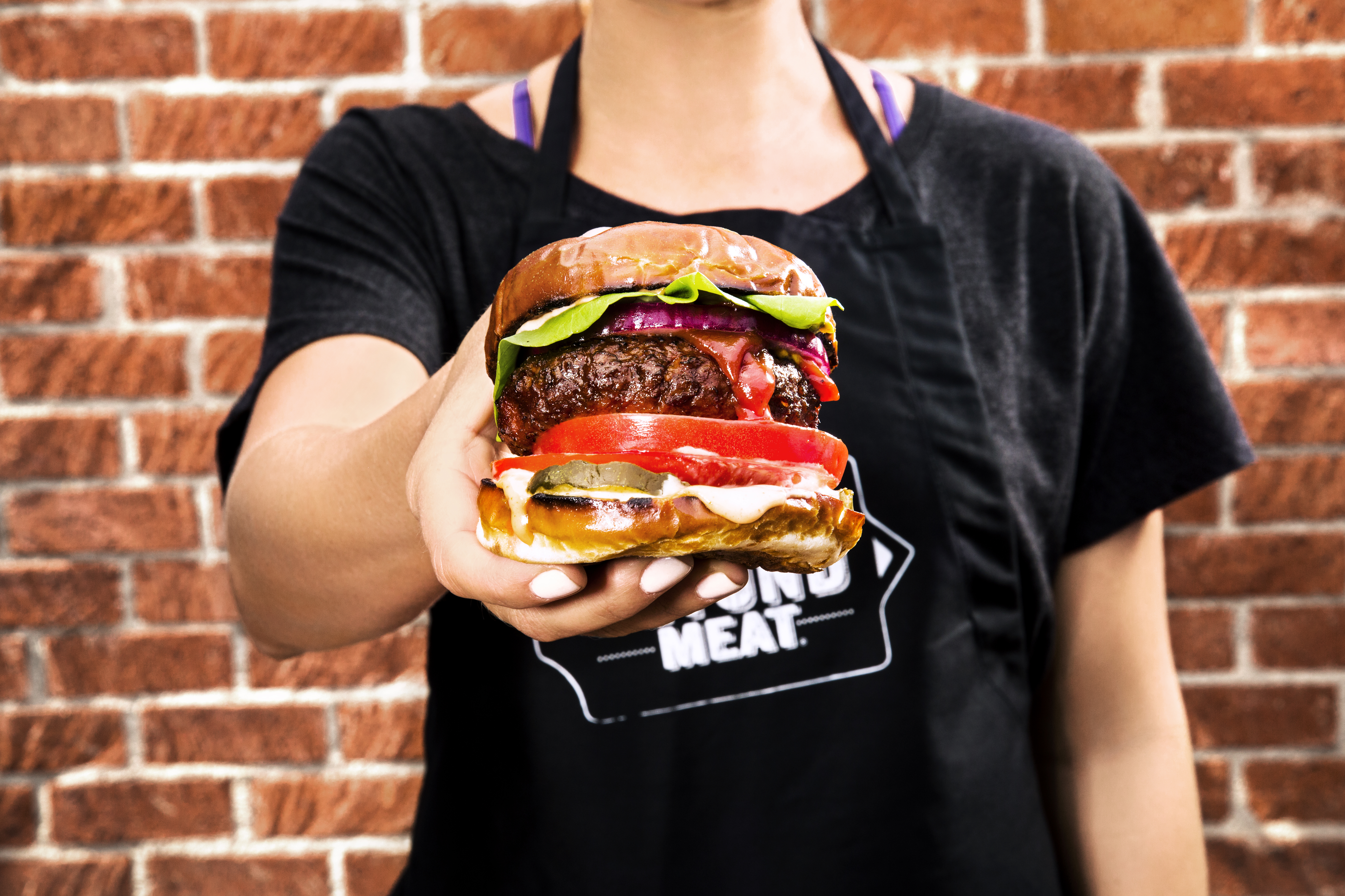 vegetarian beyond burgers non meat protein