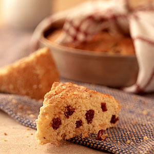 Tart Cherry-and-Vanilla Scones