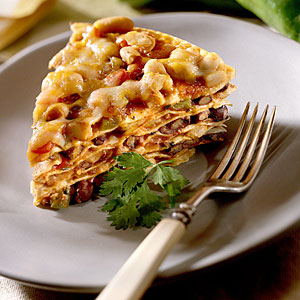 Seven-Layer Tortilla Pie Recipe