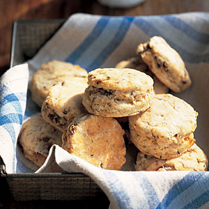 Sun-Dried Tomato Semolina Biscuits
