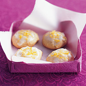 Healthy Lemon-Honey Drop Cookies Recipe