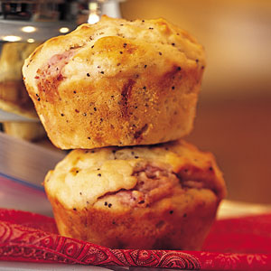 These fruity muffins are the perfect start to any morning.
