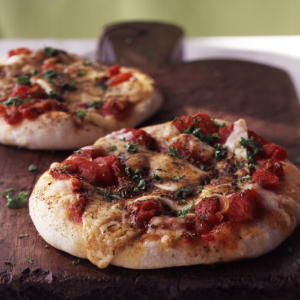 Healthy Herbed Cheese Pizza Recipe