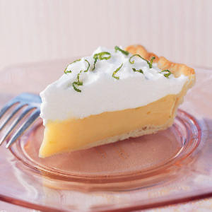 Mango-Lime Icebox Pie