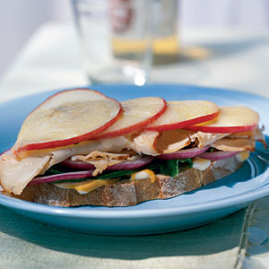 Open-Faced Turkey Sandwich with Apple and Havarti Recipes