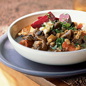 Beef, Beer, and Barley Stew