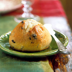 Olive and Asiago Rolls