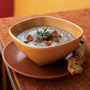 Healthy Creamy Lentil Soup Recipe