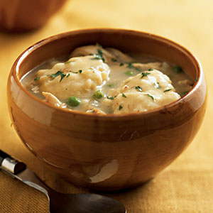 Healthy Chicken and Dumplings Recipe