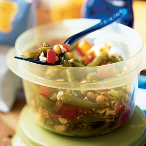 White Bean, Tomato and Green Bean Salad