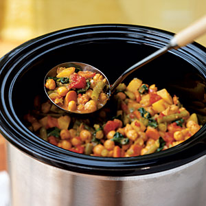 Vegetable and Chickpea Curry - Recipes