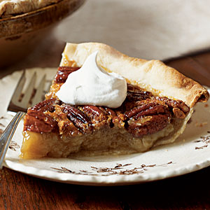 Pecan Pie with Spiked Cream