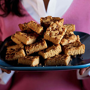 Toffee Blond Brownies Recipe