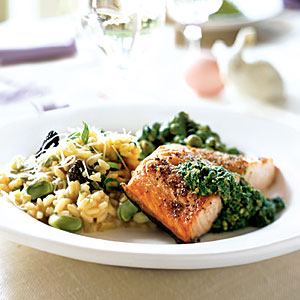 Elegant Spring Recipes and Menus