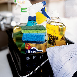 Make over your cleaning-supply space