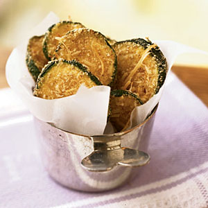 Zucchini Oven Chips