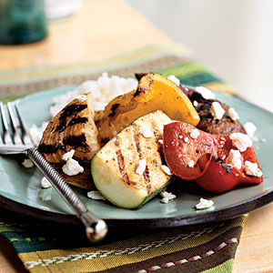 Top-Rated Vegetable Recipe: Grilled Vegetables with Feta
