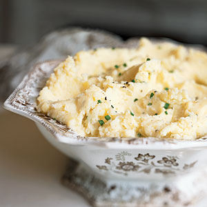 Camembert Mashed Potatoes Comfort Food Recipe