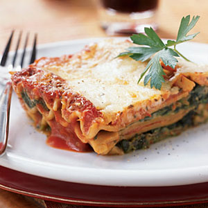 Creamy Spinach Lasagna Recipe