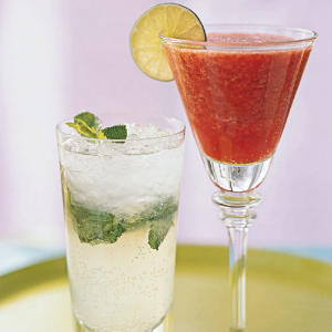 Take Two: Strawberry Margarita vs. Mojito - Cooking Light