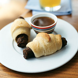 Veggie Piglets in Blankets with Dipping Sauce Recipes