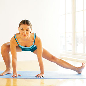 Jazz-Style Lunge and Stretch