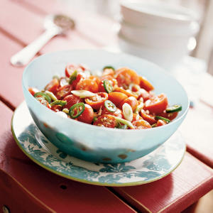 This recipe highlights the fresh taste of cherry tomatoes, whether from your garden, a farmers' market, or the store.