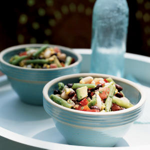 Easter Zesty Three-Bean and Roasted Corn Salad Recipe