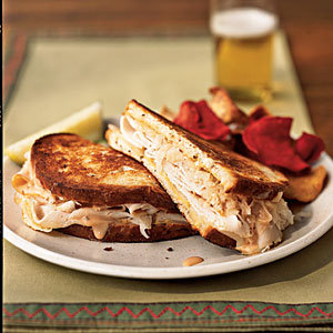 Turkey Reuben Sandwiches recipe