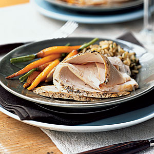 Provençal Turkey Breast with Jus Recipes