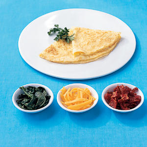 Plain Omelet - Big Gains, Small Steps - Cooking Light