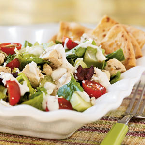 Herbed Greek Chicken Salad S