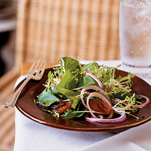 Watercress, Frise, and Grapefruit Salad with Curry Vinaigrette